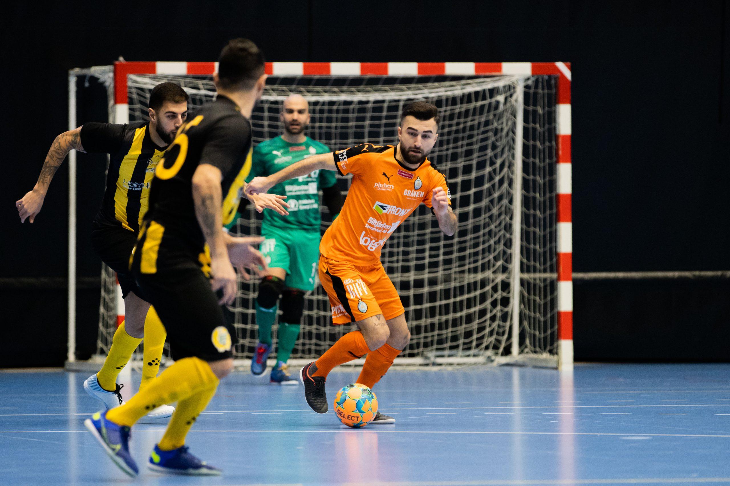 Förlust för AFC futsal mot Hammarby