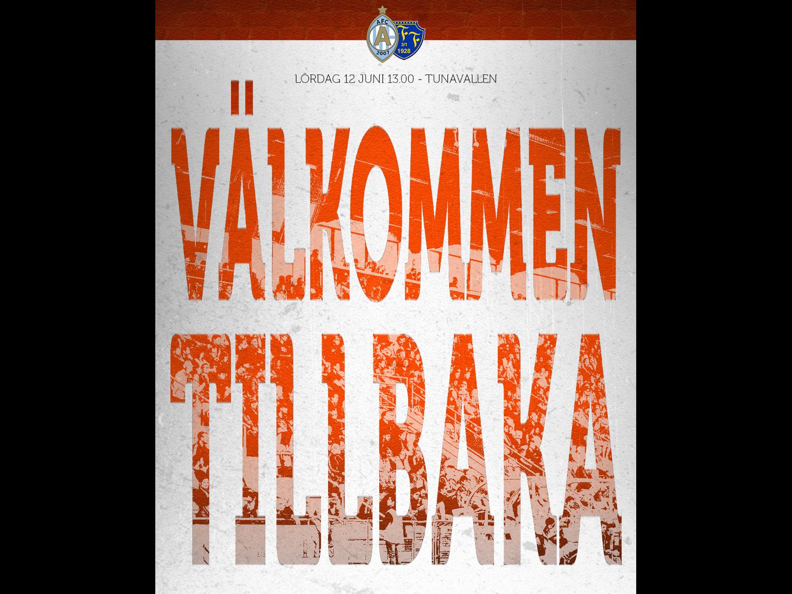 Biljettsläpp till AFC Eskilstuna - Falkenbergs FF, 12 juni kl. 13.00.