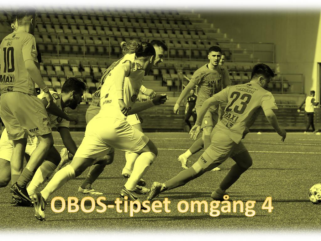 Tippa omgång fyra av OBOS-tipset