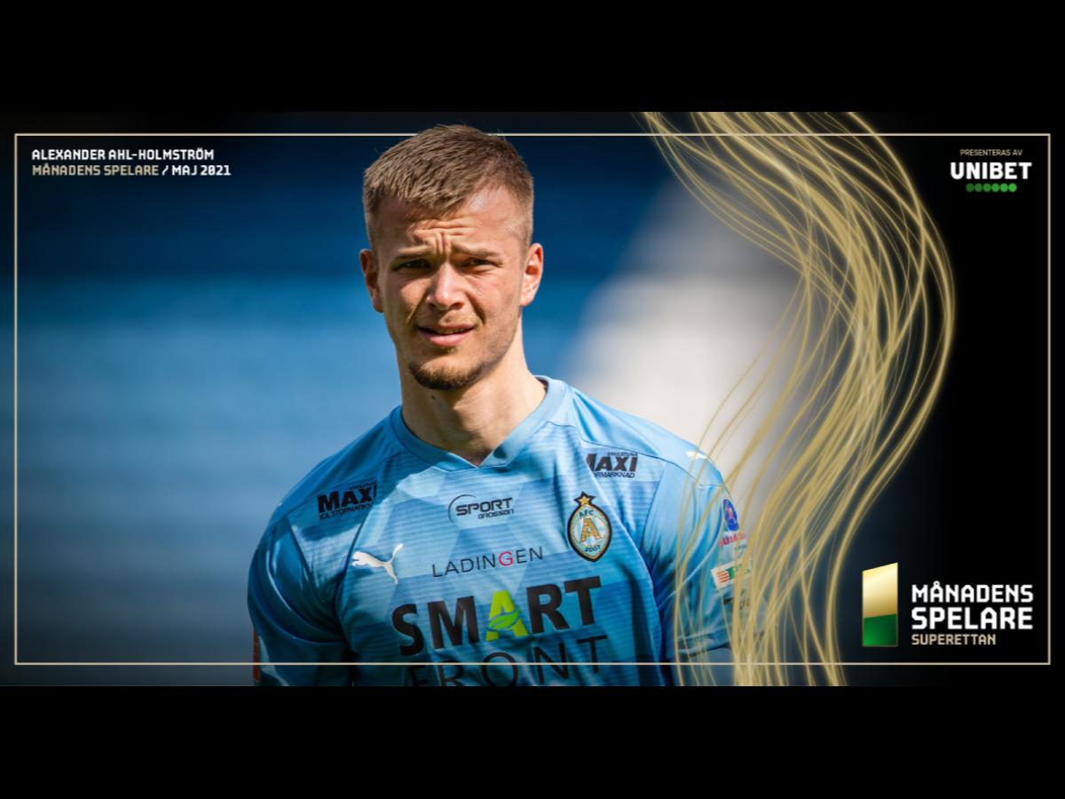 Alexander Ahl-Holmström är månadens spelare i maj